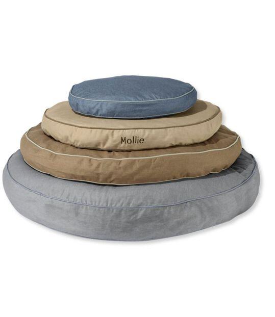 プレミアム・ドッグ・ベッド、替えのカバー デニム 円形, , hi-res