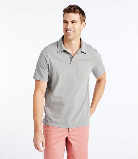 レイクウォッシュ・オーガニック・コットン・ポロシャツ、半袖, , hi-res