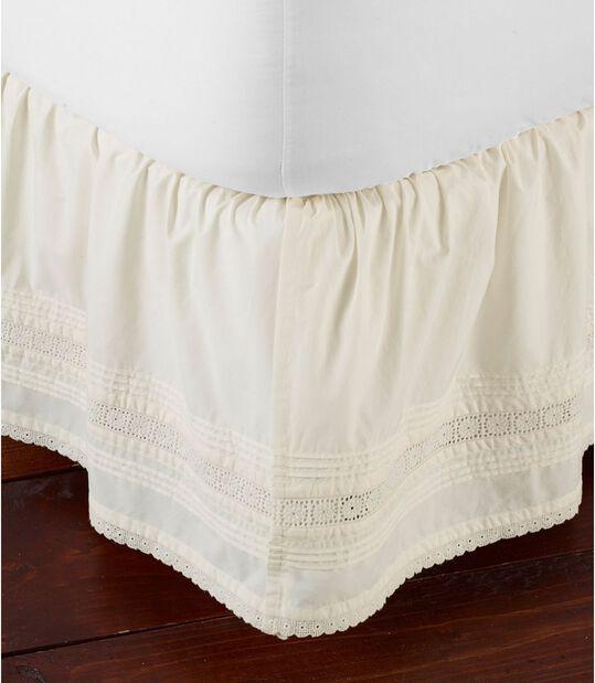 サンウォッシュ・ピンタック・ベッド・スカート, , hi-res