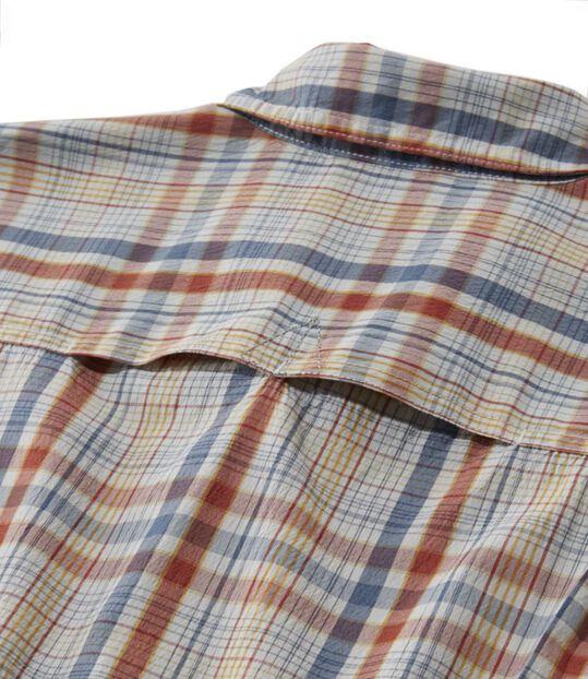 ホームストレッチ・パフォーマンス・シャツ、半袖 プラッド, , hi-res