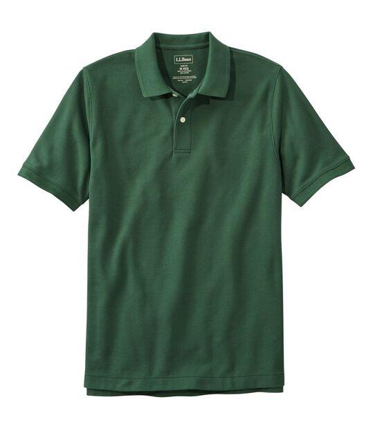 プレミアム・ダブル・エル・ポロシャツ、スリム・フィット 半袖, , hi-res