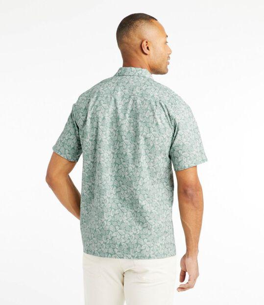 トロピック・シャツ、スライトリー・フィット 半袖 プリント, , hi-res
