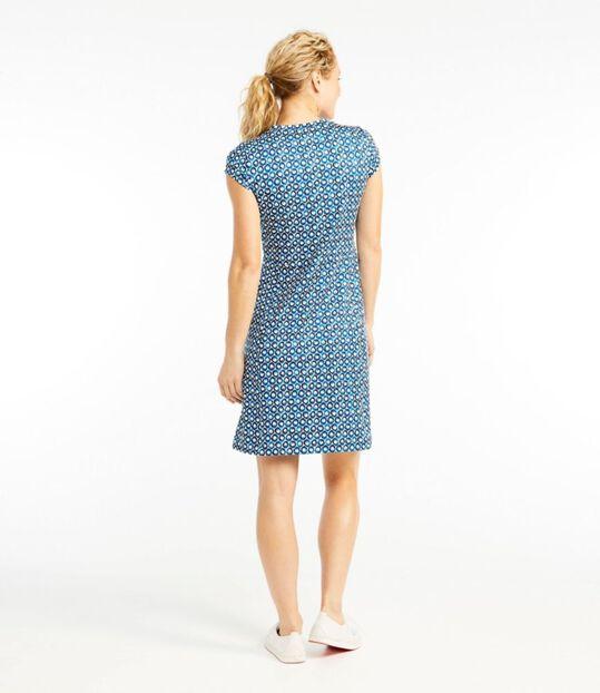 フィットネス・ドレス、半袖 プリント, , hi-res