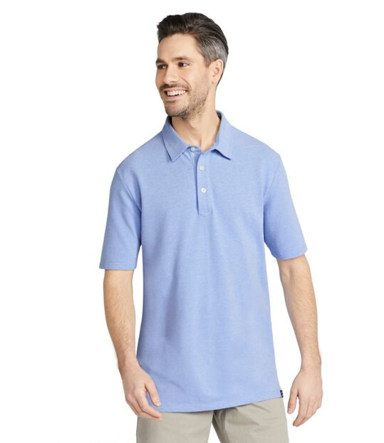 ストーンコースト・ストレッチ・ポロシャツ、半袖, , hi-res