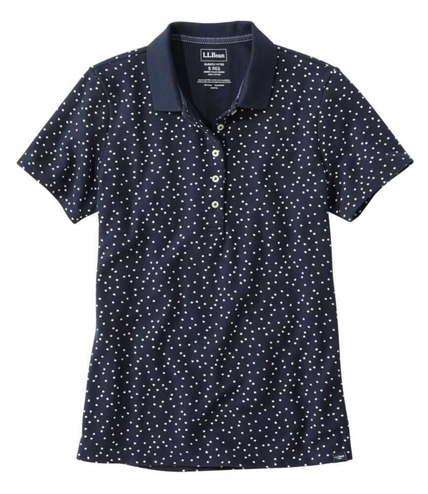 プレミアム・ダブル・エル・ポロシャツ、半袖 プリント