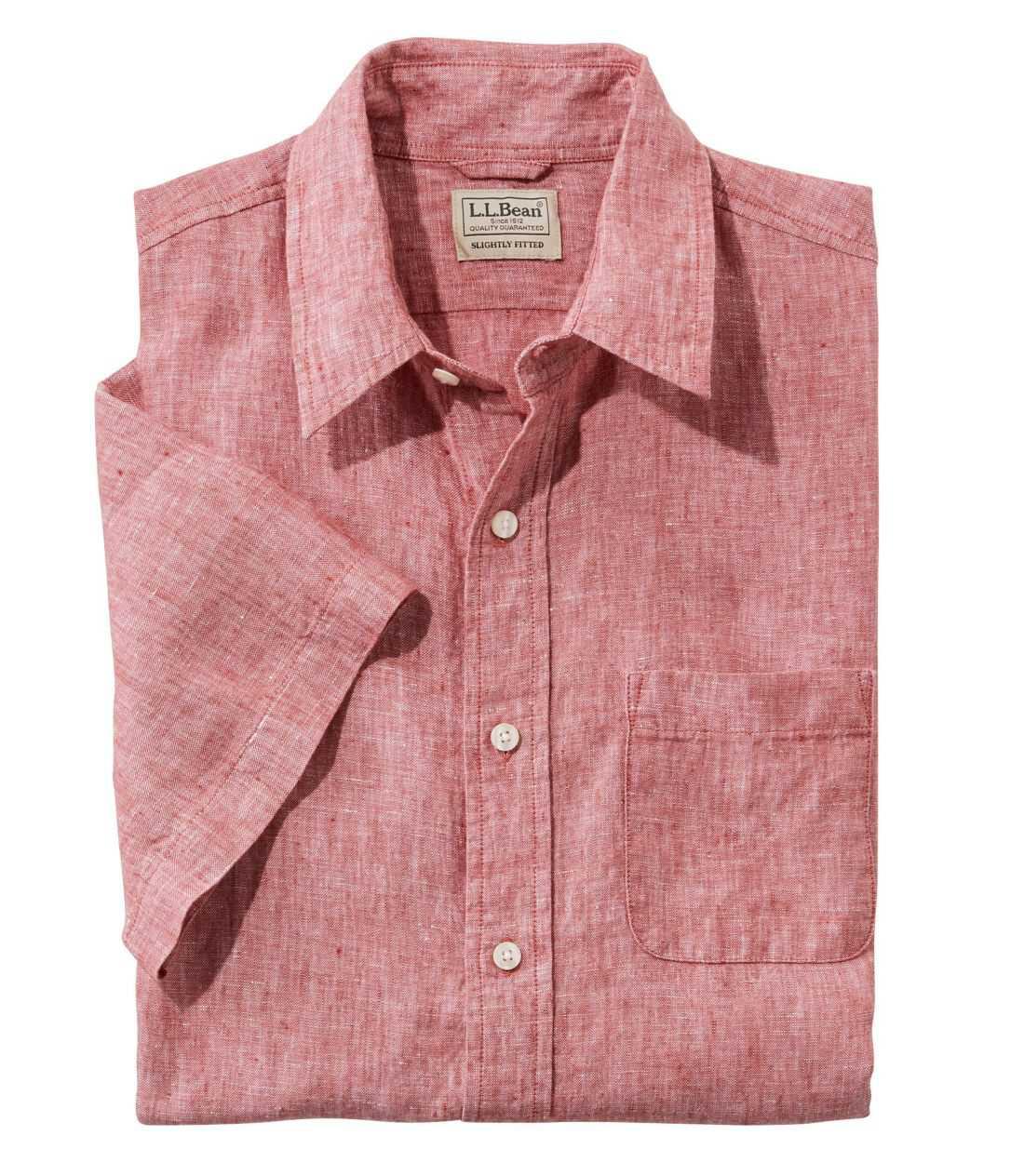 エル・エル・ビーン・リネン・シャツ、半袖