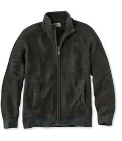 ブルー・ジーン・セーター、フルジップ, , hi-res