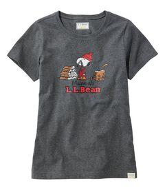L.L.Bean x Peanuts ティ、半袖, , hi-res
