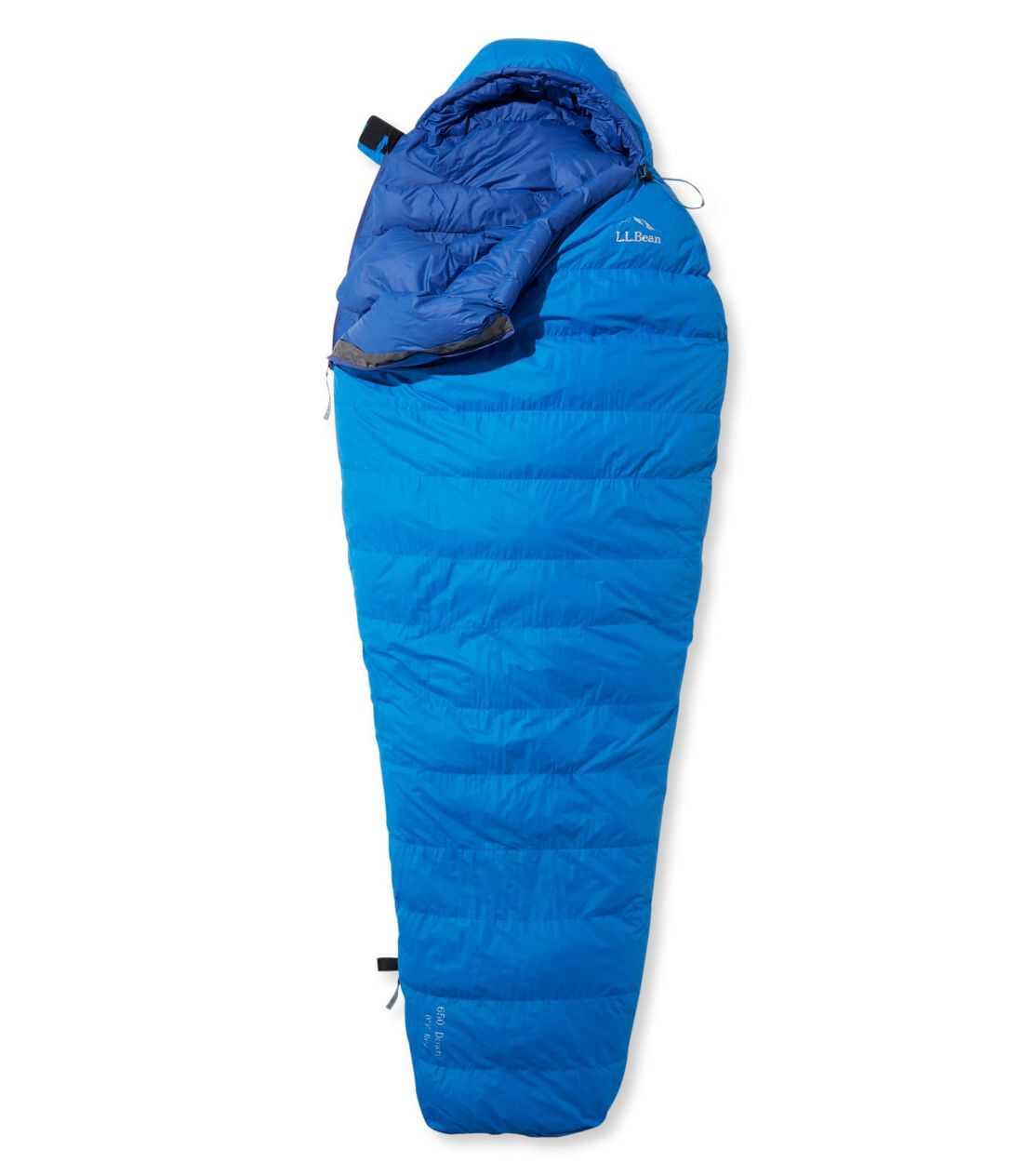 エル・エル・ビーン・ダウン・スリーピング・バッグ・ウィズ・ダウンテック、マミー型 -7℃