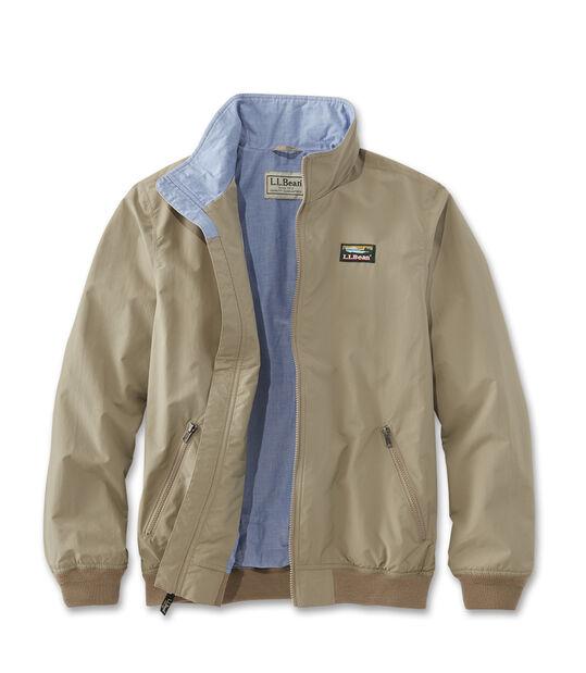 ウォーム・アップ・ジャケット、シャンブレーの裏地付き, , hi-res