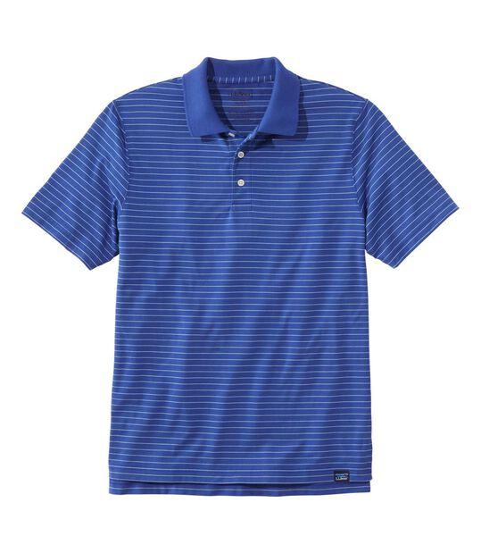 バケーションランド・ ピマ・ポロシャツ、半袖 ストライプ, , hi-res