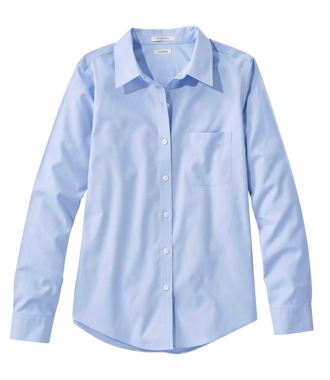 リンクルフリー(形態安定)・ピンポイント・オックスフォード・シャツ、オリジナル 長袖