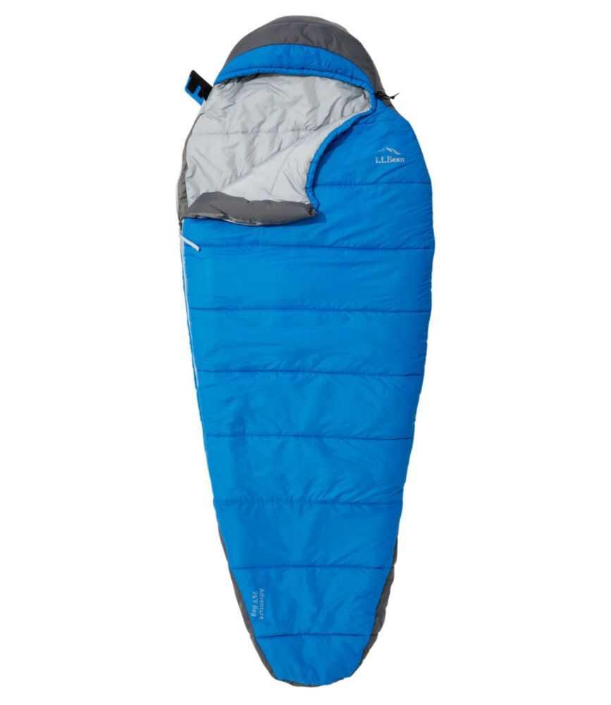 エル・エル・ビーン・アドベンチャー・スリーピング・バッグ、-4℃ マミー