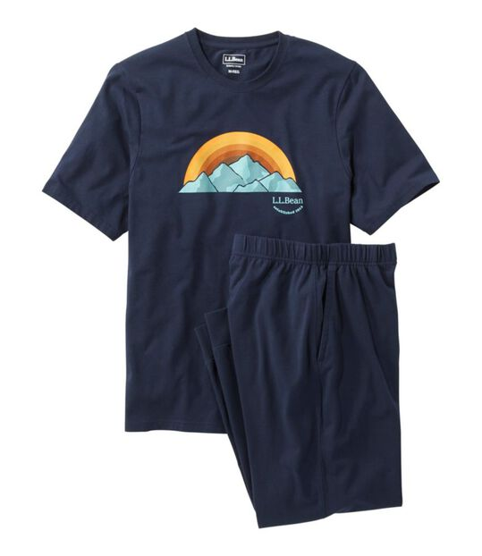 ウィケッド・ソフト・ニット・パジャマ・セット、半袖, , hi-res