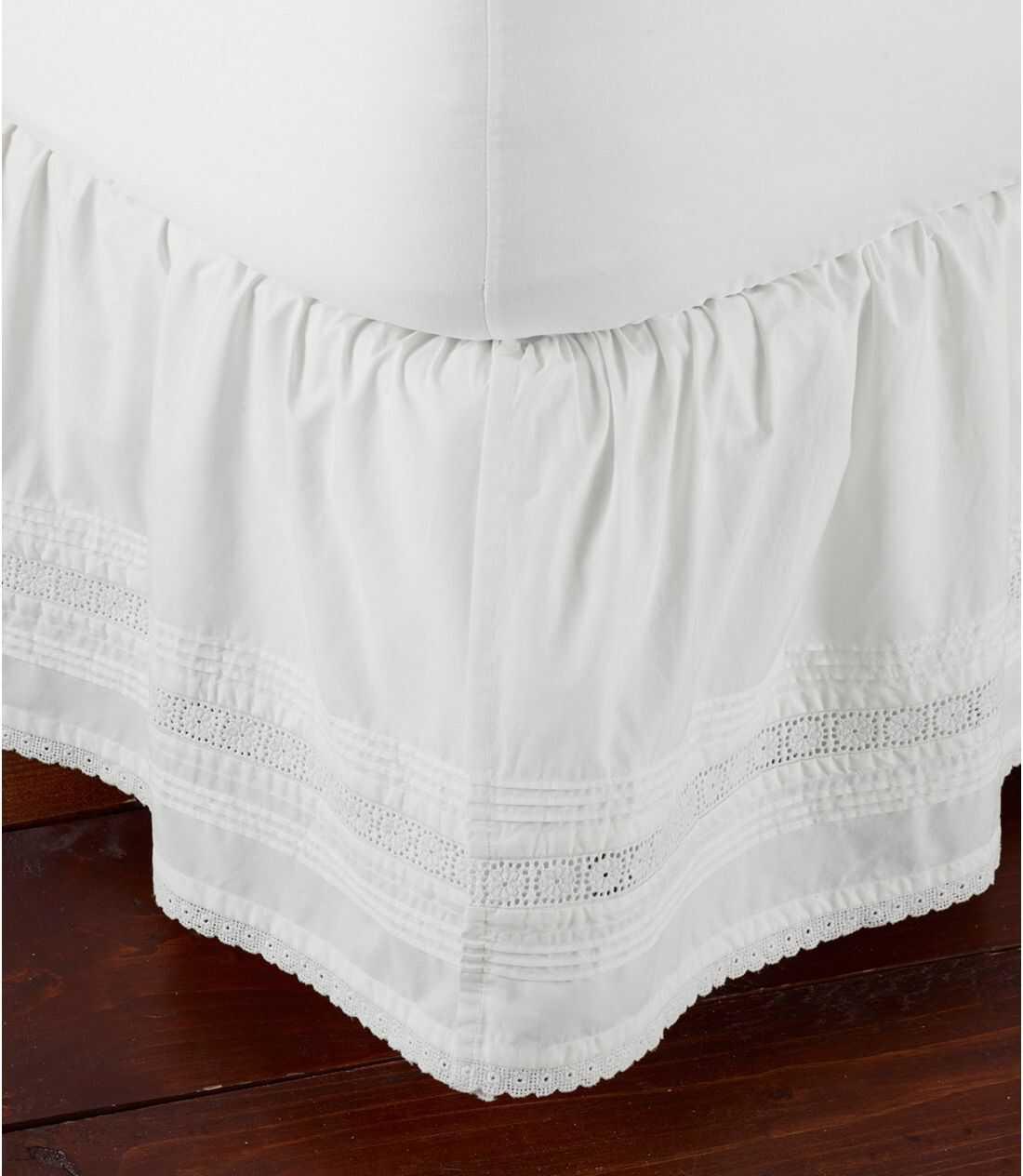 サンウォッシュ・ピンタック・ベッド・スカート