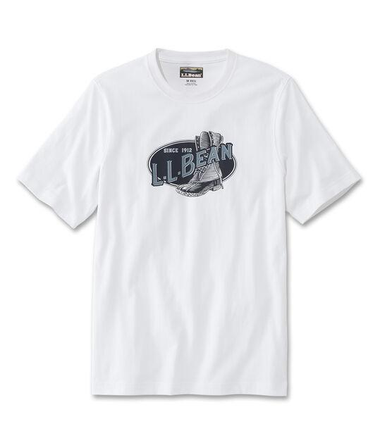 グラフィック・ケアフリー・アンシュリンカブル・ティ、半袖 ビーン・ブーツ, , hi-res