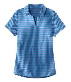 エル・エル・ビーン・ティ、ポロシャツ 半袖 ストライプ, , hi-res