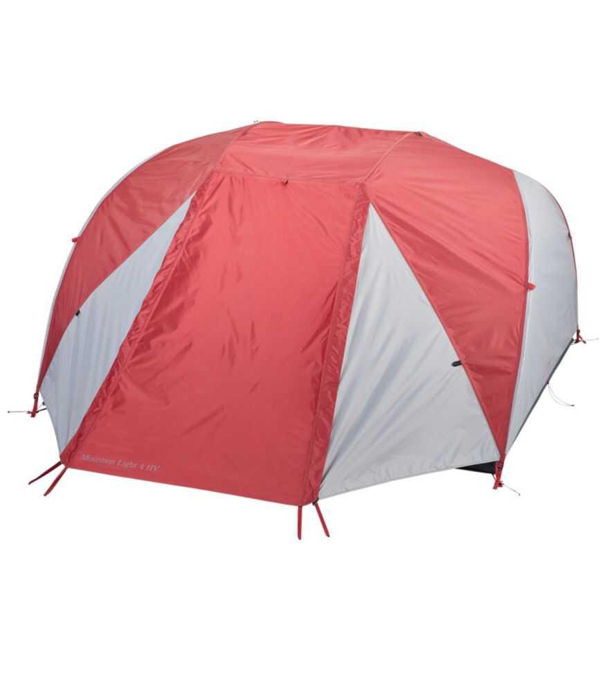 マウンテン・ライト HV テント・ウィズ・フットプリント、4人用