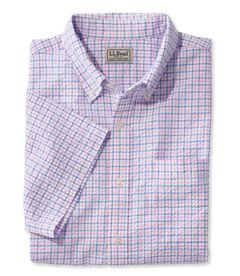シアサッカー・シャツ、半袖 タターソル, , hi-res