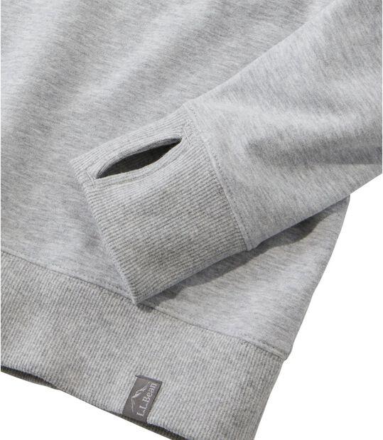 コージー・クルーネック・スウェットシャツ、ロゴ, , hi-res
