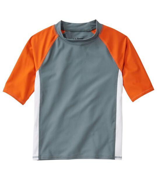 キッズ・サンアンドサーフ・シャツ、半袖 カラーブロック, , hi-res