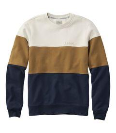 エル・エル・ビーン 1912 スウェットシャツ、クルーネック カラーブロック, , hi-res