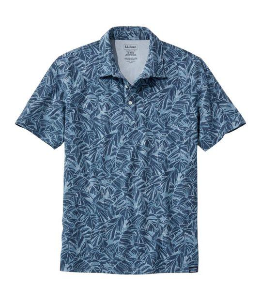 ストーンコースト・ストレッチ・ポロシャツ、プリント, , hi-res