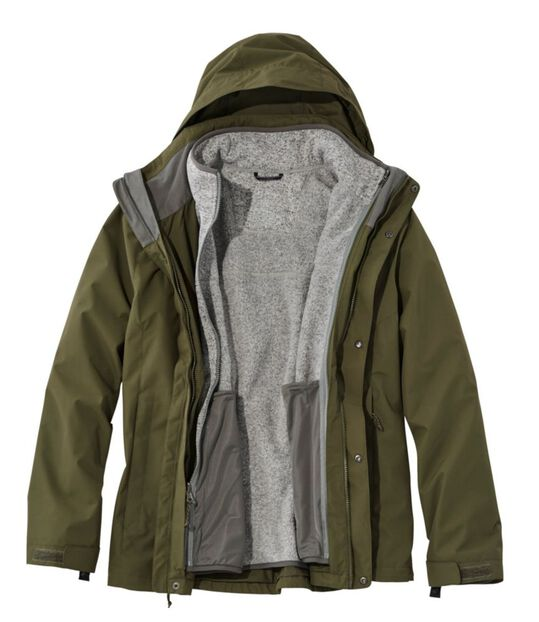 エル・エル・ビーン・セーター・フリース 3イン1 ジャケット, , hi-res