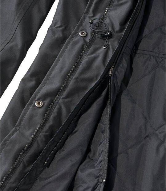 H2OFF DXレインウエア・プリマロフトライナー付き・ロング・コート, , hi-res