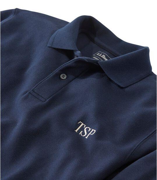 プレミアム・ダブル・エル・ポロシャツ、長袖, , hi-res
