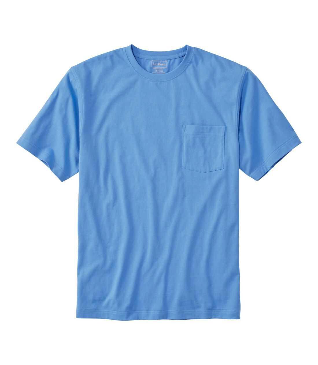 ケアフリー・アンシュリンカブル・ティ、半袖 ポケット付き