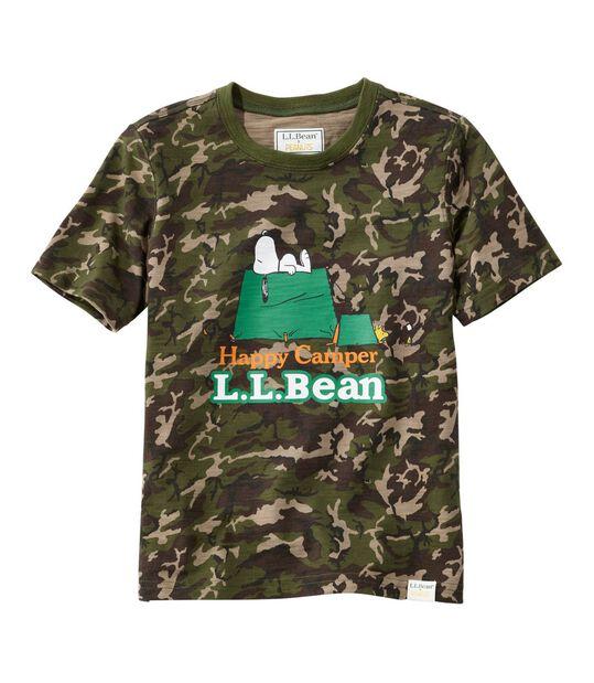 キッズ L.L.Bean x Peanuts ティ、半袖 プリント, , hi-res