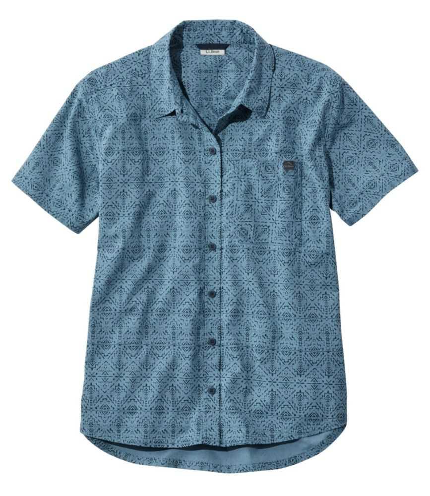ビーチ・クルーザー・サマー・シャツ、半袖 プリント