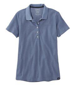 プレミアム・ダブル・エル・ポロシャツ、半袖 プリント, , hi-res