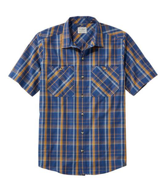 オッター・クリフ・シャツ、半袖 プラッド, , hi-res