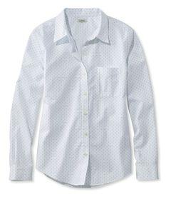 リンクルフリー(形態安定)・ピンポイント・オックスフォード・シャツ、オリジナル 長袖 ドット, , hi-res