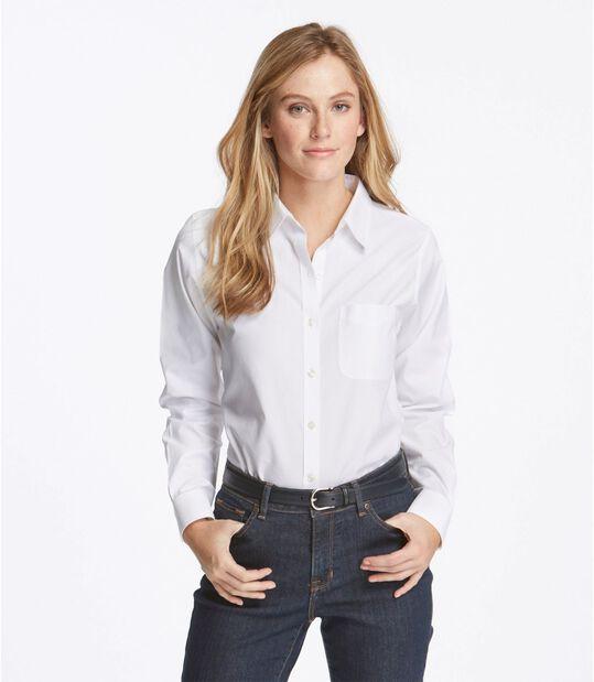 リンクルフリー(形態安定)・ピンポイント・オックスフォード・シャツ、オリジナル 長袖, , hi-res