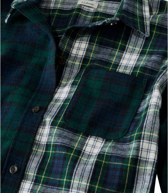 スコッチ・プラッド・フランネル・シャツ、カラーブロック, , hi-res