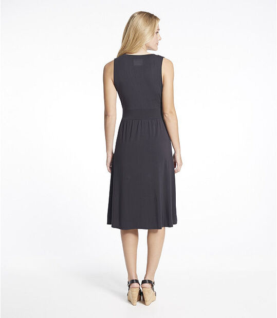 サマー・ニット・ドレス、袖なし, , hi-res