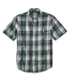 サマー・ライトウェイト・シャツ、半袖 プラッド, , hi-res