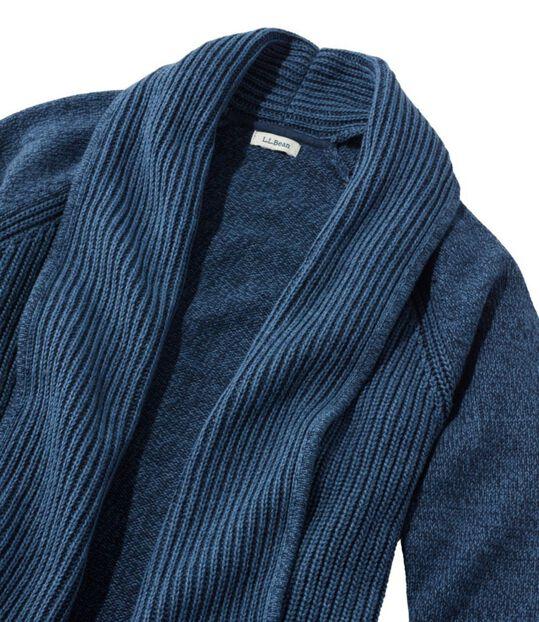 ビーンズ・シェーカー・ステッチ・セーター、オープン・カーディガン, , hi-res