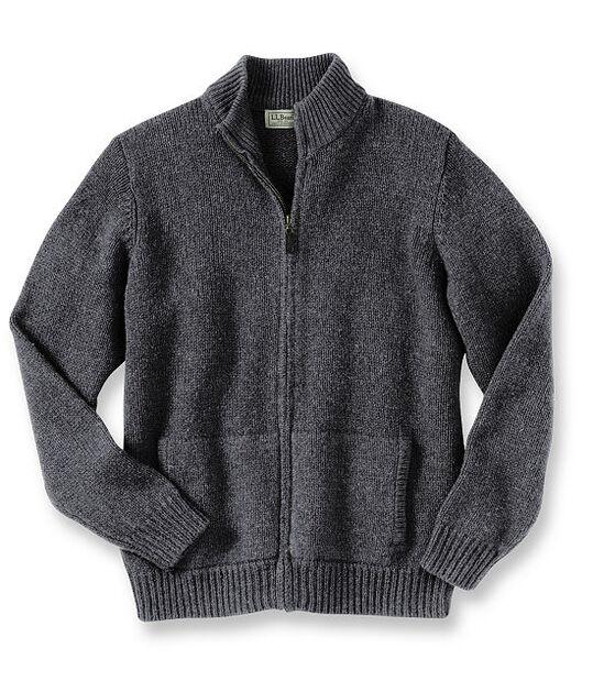 エル・エル・ビーン・クラシック・ラグ・ウール・セーター、フルジップ, , hi-res