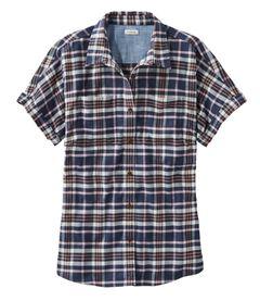 ビーンフレックス・オールシーズン・フランネル・シャツ、半袖, , hi-res