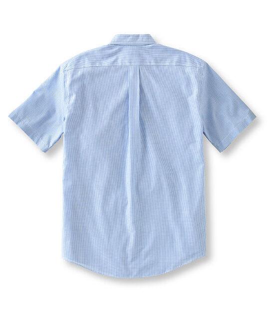 リンクルフリー(形態安定)・バケーションランド・スポーツ・シャツ、半袖 ミニ・チェック, , hi-res