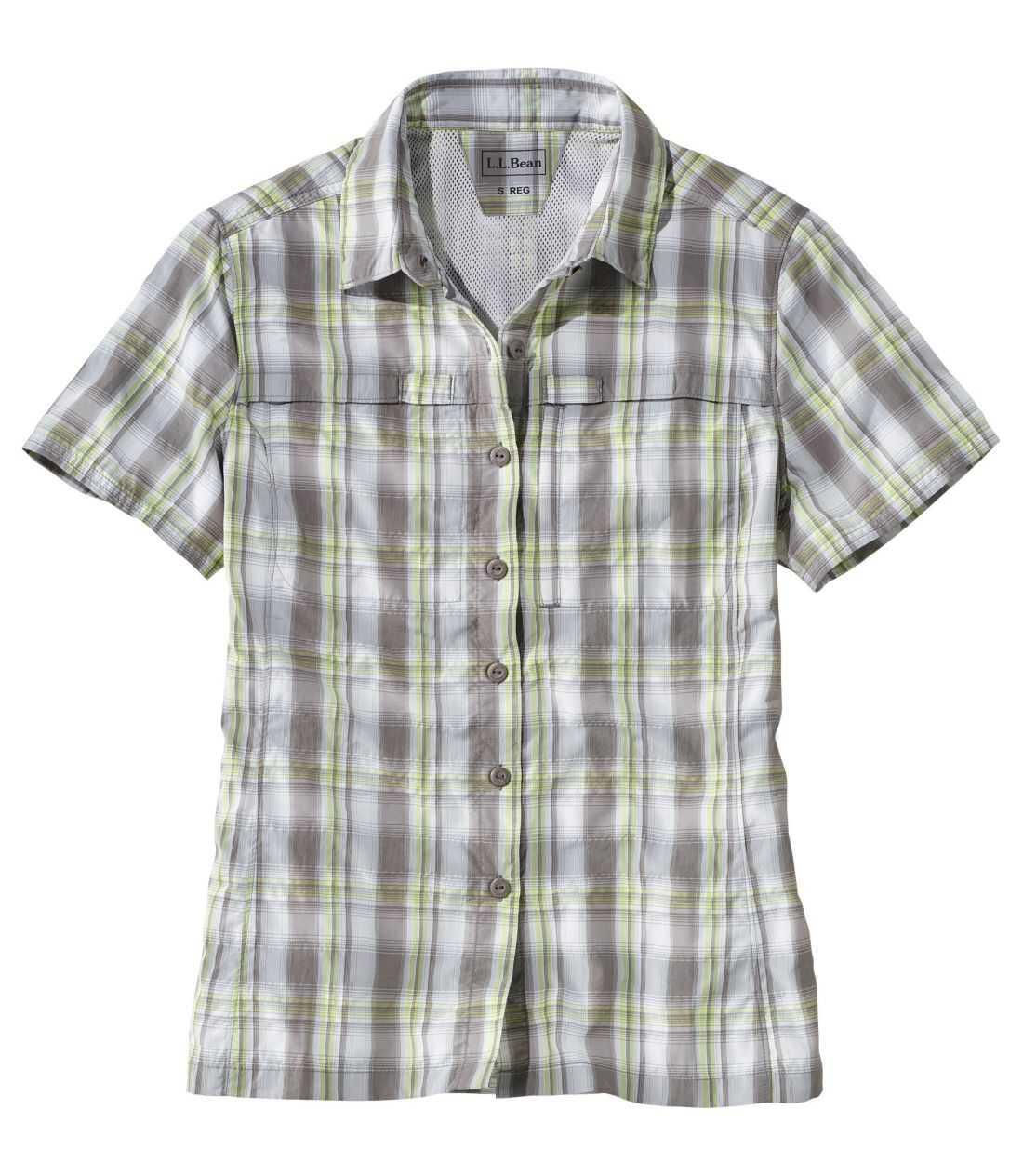 トロピックウエア・シャツ、プラッド 半袖