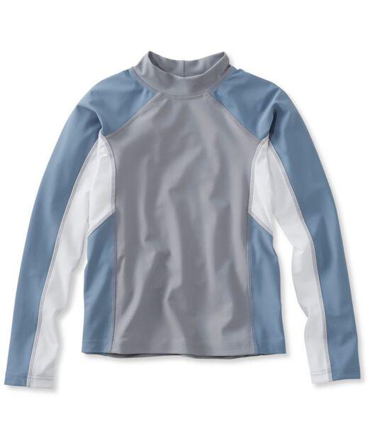 サン・アンド・サーフ・シャツ、長袖 カラーブロック, , hi-res