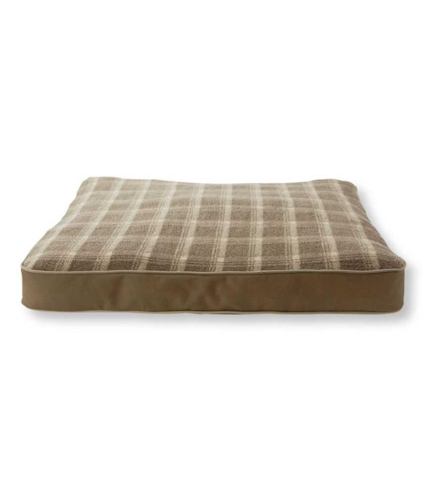 セラピューティック・ドッグ・ベッド・セット、フリース 長方形