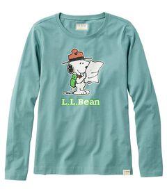 L.L.Bean x Peanuts ティ、長袖, , hi-res