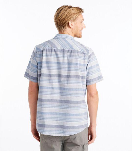 オッター・クリフ・シャツ、半袖 ストライプ, , hi-res