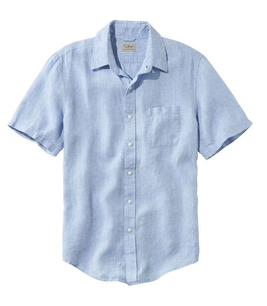 エル・エル・ビーン・リネン・シャツ、半袖, , hi-res